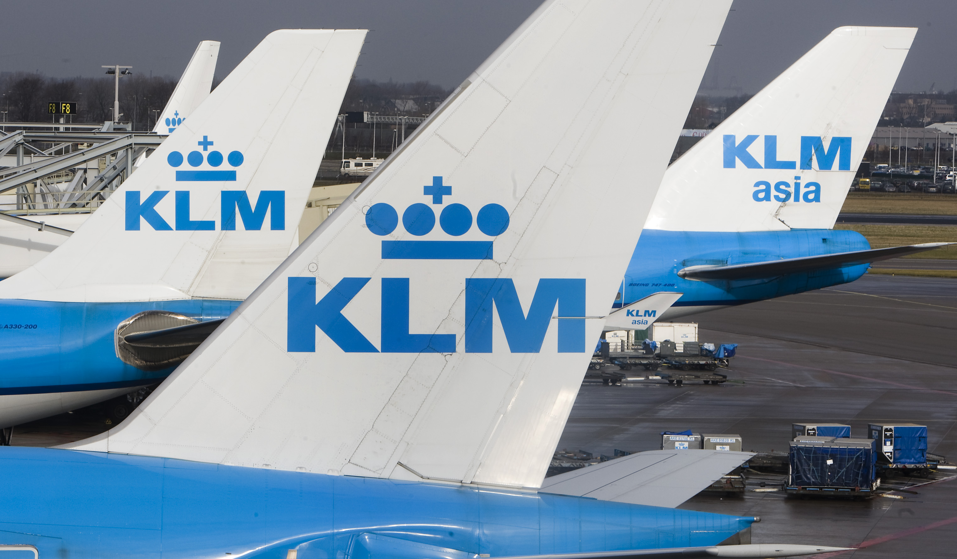 SCHIPHOL-VLIEGTUIG-KLM