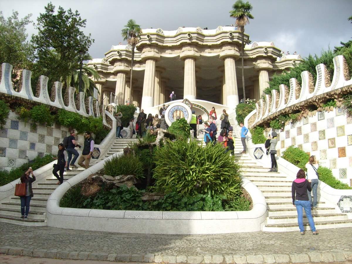 Park Güll in Barcelona 2014 - 022