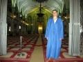 züchtiges Blaumann-Outfit ohne Kopftuch