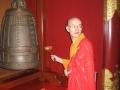 singapur chinatown tempel monk